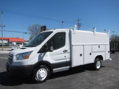 2015 Ford TRANSIT T-350HD 3.2 DIESEL ENCLOSED SERVICE BODY