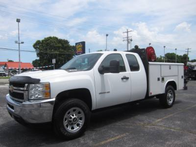 2012 Chevrolet Silverado 3500HD LT EXTENDED CAB 4X4 VOTEC 6.0 ~ SERVICE BED