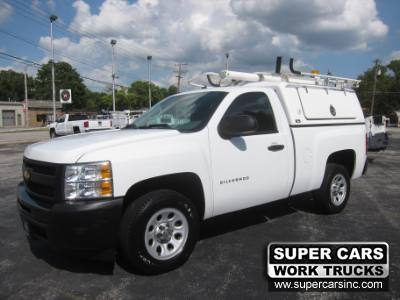 2012 Chevrolet Silverado 1500 WORK TRUCK ~ TOPPER ~ INVERTER