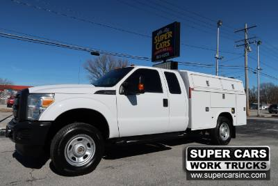 2013 Ford Super Duty F-350 SRW XL EXTENDED CAB 4X4 6.2 V8 ~ ENCLOSED