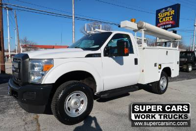 2014 Ford Super Duty F-350 SRW XL REGULAR CAB 4X4 6.2 ~ SERVICE TRUCK