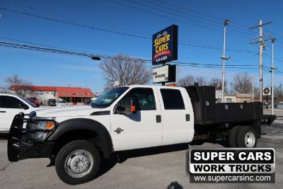 2013 Ford SUPER DUTY F-450 XL CREW 4X4 6.7 DIESEL