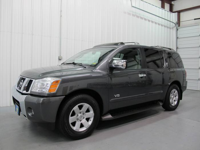 2006 Nissan Armada LE LEATHER DVD
