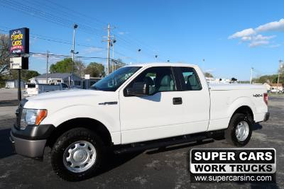 2013 Ford F-150 XL EXTENDED CAB 4X4 5.0 V8
