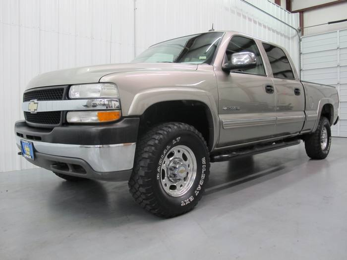 2002 Chevrolet Silverado 2500HD LEATHER*ONSTAR*CREWCAB*4X4
