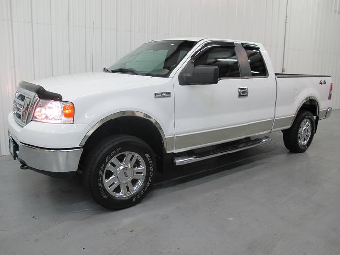 2008 Ford F-150 XLT EXT CAB 4X4 CHROME PK BED LINER