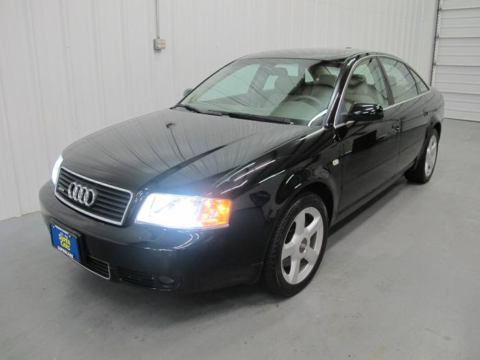 2004 Audi A6 3.0L Quattro(awd) Sunroof Leather Triptronic