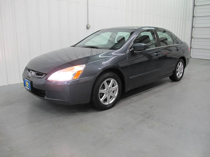 2004 Honda ACCORD EX ONE OWNER HEATED LEATHER SUNROOF DVD