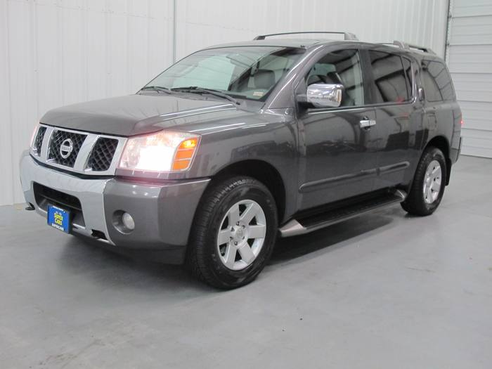 2004 NISSAN ARMADA LE * 3RD ROW * 4X4 * DVD * LEATHER * SUNROOF!!