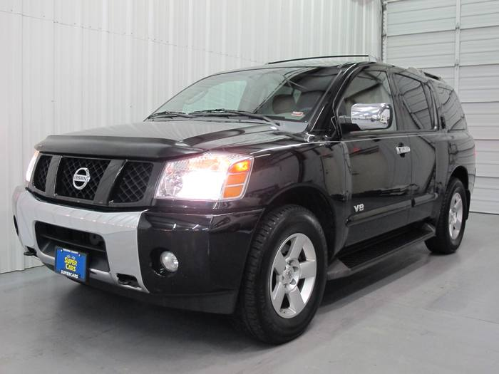 2006 Nissan Armada 3rd ROW 4x4 TOW PACKAGE leather