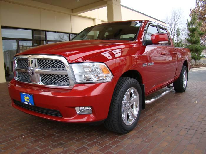 2009 Dodge Ram 1500 QUAD CAB LEATHER CHROME WHEELS NEWTIRES  BLUETOOTH