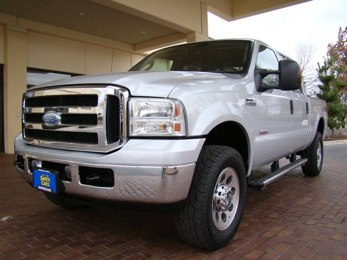 2006 Ford Super Duty F-350 SRW CREW CAB DIESEL 4X4 FX4 POWER STROKE