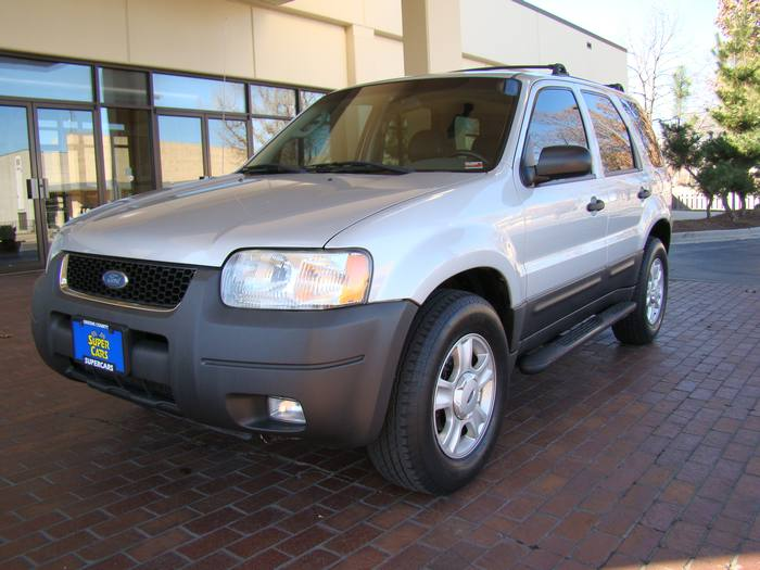 2003 Ford Escape XLT LEATHER SUNROOF 4X4 6DISC