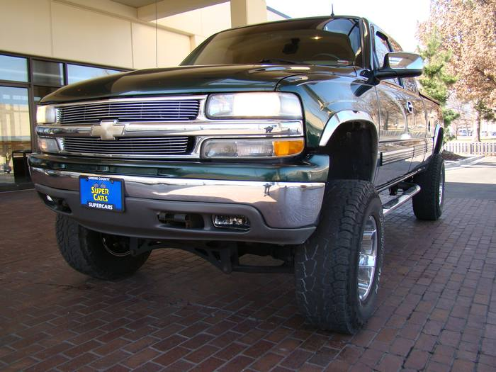 2001 Chevrolet Silverado 1500 Z71 4X4 HEATED MEMORY LEATHER EXT CAB LIFTED RIMS