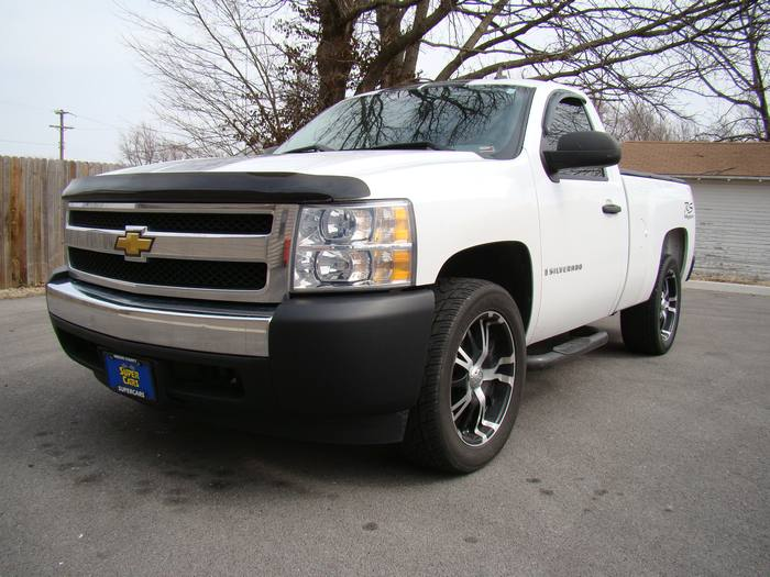2008 Chevrolet Silverado 1500 WORK TRUCK RALLEY SPORT EDITION RIMS