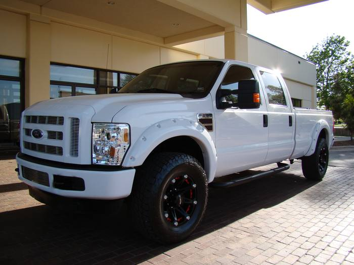 2008 Ford Super Duty F-250 SRW SD F-250 CREW 4X4