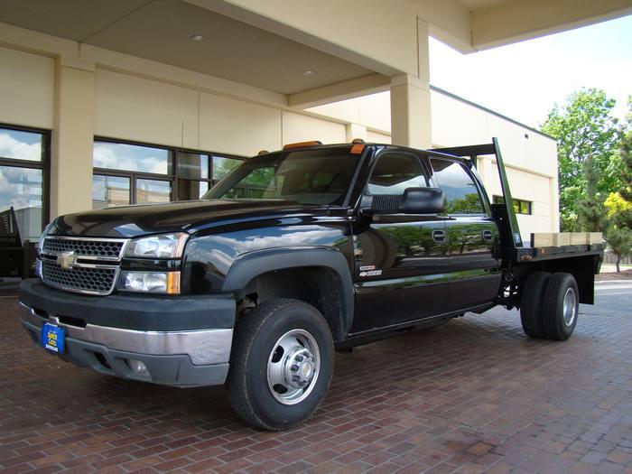 2005 Chevrolet Silverado 3500 CREW 3500 DRW 4X4 FLATBED