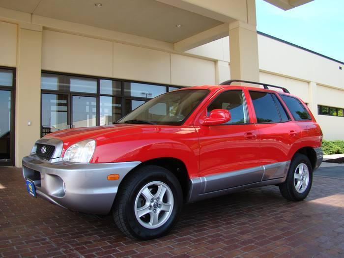 2003 Hyundai Santa Fe GLS 3.5L