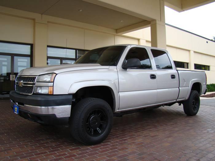 2005 Chevrolet Silverado 2500HD 2500 CREW CAB ~ 4X4 ~ DIESEL
