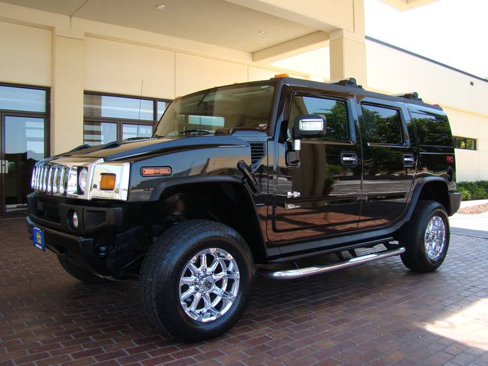 2006 HUMMER H2 LUXURY PKG 4X4 NAVIGATION DVD