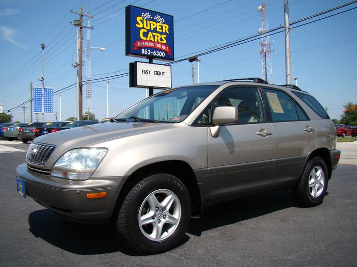 2001 Lexus RX 300 4X4 ~ LEATHER ~ SUNROOF
