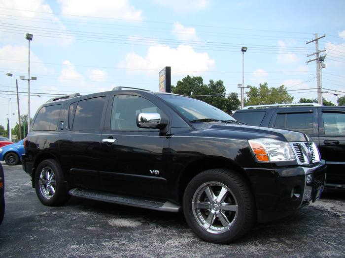 2005 Nissan Armada LE 4X4 LOADED!