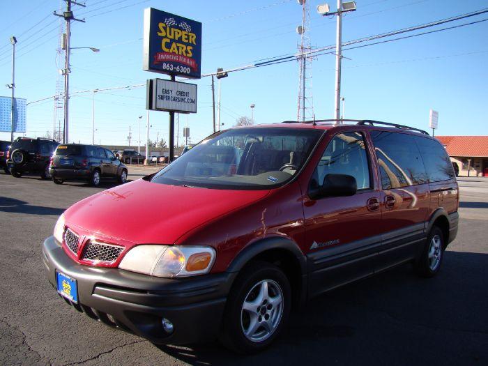 2001 Pontiac Montana w/1SE Pkg/Plus Y3G Mobility Pkg