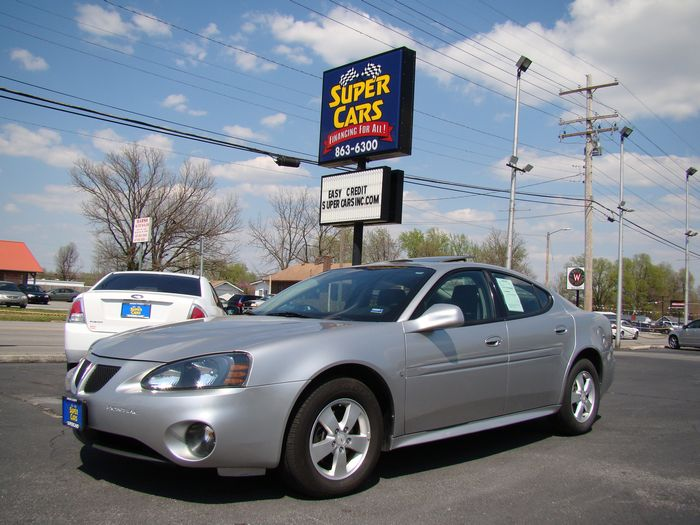 2007 Pontiac Grand Prix Sedan Sunroof