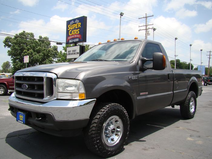 2004 Ford F-250 F250 ~ 4X4 ~ 89K ~ POWER STROKE DIESEL!!