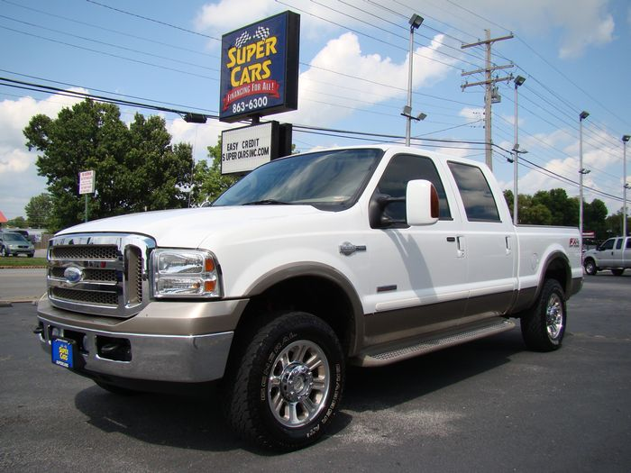2005 Ford Super Duty F-250 LARIAT KING RANCH FX4 DIESEL