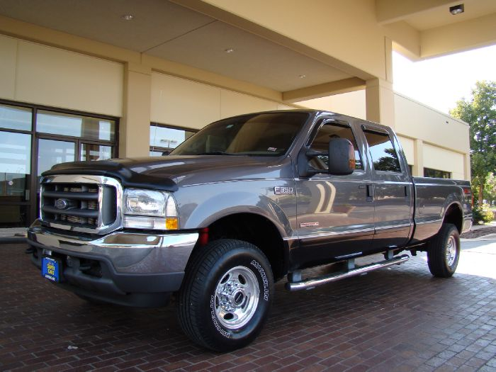 2004 Ford Super Duty F-350 SRW LARIAT CREW 4X4 POWERSTROKE