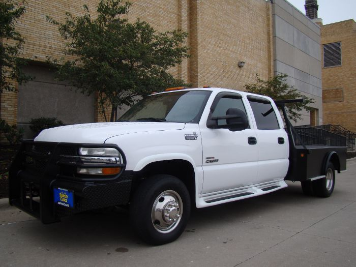 2001 Chevrolet Silverado 3500 LT CREW DURAMAX