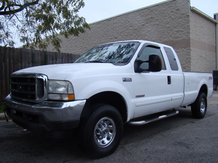 2003 Ford Super Duty F-250 XLT FX4 POWERSTROKE