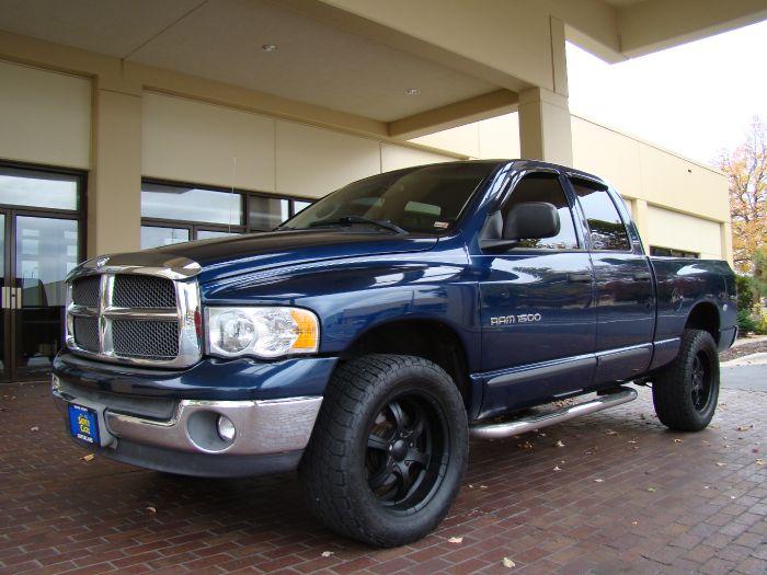 2002 Dodge RAM 1500 SLT 4X4 HEMI CREW