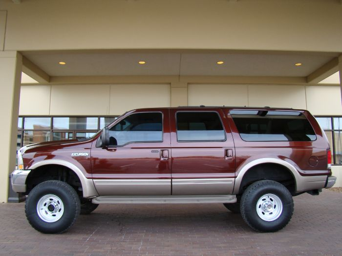 2000 Ford Excursion LIMITED 7.3 DIESEL 4X4 W/LIFT