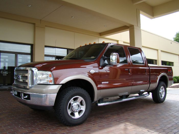 2007 Ford Super Duty F-250 KING RANCH 4X4 CREW DIESEL