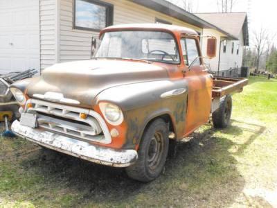 1957 Chevrolet 3/4 Ton Stake Truck