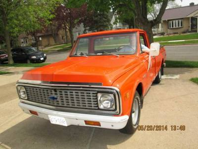 1971 Chevrolet 1/2 Ton Pickup