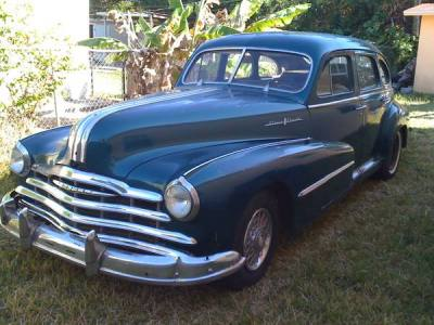 1948 Pontiac Silver Streak Deluxe