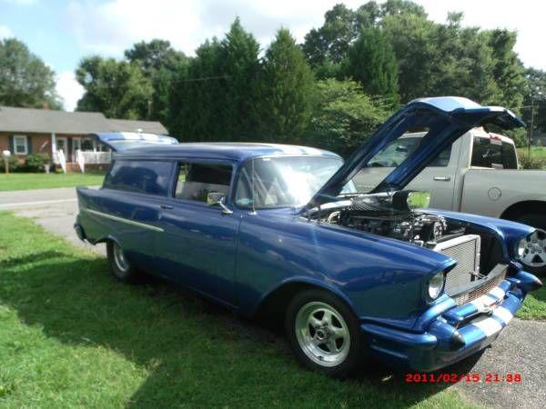 1957 Chevrolet Sedan Delivery 2