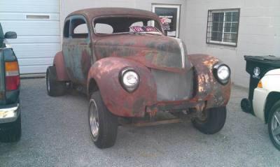 1938 Ford Gasser