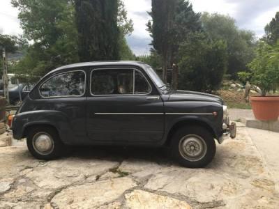 1963 Fiat 600D