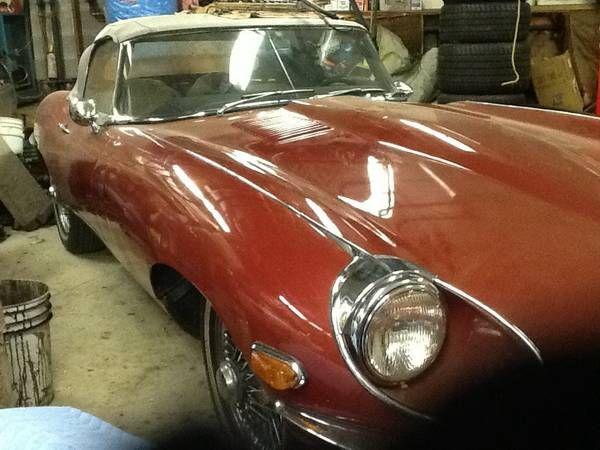 1969 Jaguar XKE 2