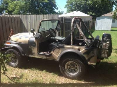 1974 Jeep Wrangler CJ5