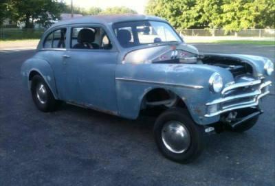1950 Plymouth Gasser Rat rod