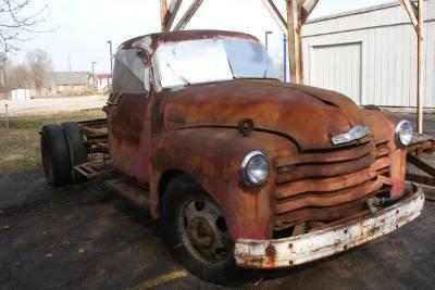 1953 Chevrolet Sereis 1400 Stake Dully