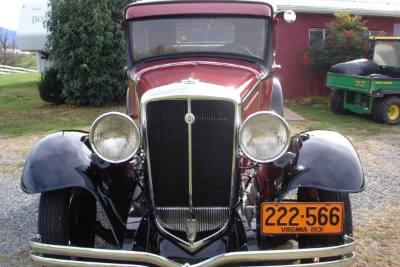 1931 Studebaker Sedan Model 34-1
