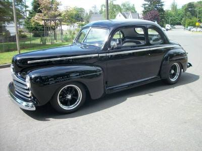 1948 Ford Super Deluxe Coupe