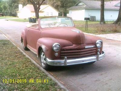 1947 Ford Roadster