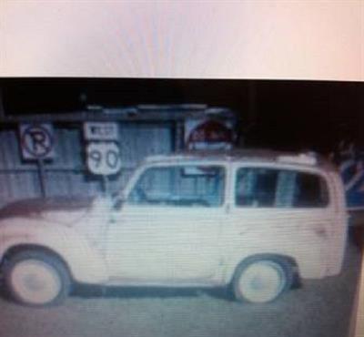 1952 Fiat Topolino Woody